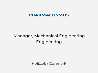 Manager, Mechanical Engineer